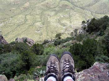 South Rim - If it doesn't kill me, it almost certainly is still going to hurt like hell!
