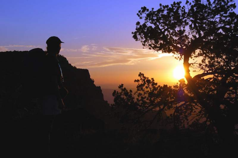 Sunrise over the South Rim, Big Bend. © 2006 C. Amos